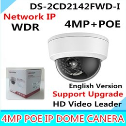 Infrared Day Night NZ - Hik 4MP IP Camer DS-2CD2142FWD-I IP POE Camera Day night Infrared IP67 IK10 Protection Outdoor Dome Camera support ONVIF