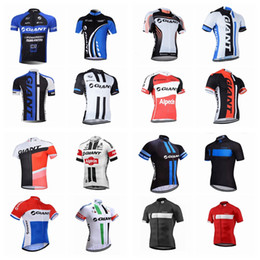 Discount giant red jersey - 2018 giant Men Cycling Jersey Bicycle Clothing  Short Sleeve shirt tour e663a78a9