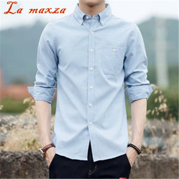 158b56d1e55 2018 Spring New Arrival Long Sleeve Big Size Shirt Mens Business Casual  Style Slim Mens Shirts