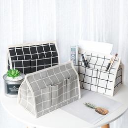 $enCountryForm.capitalKeyWord NZ - Tissue holder bag 3 Pockets tissue dress cloth tissue box TV remove holder cover case for paper Multifunctional nakpin dispenser SN01