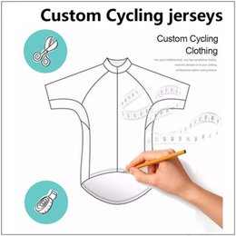 unisex lycra jersey Australia - Customized Cycling Jerseys Short Sleeve Unisex Customers Design Jersey Factory Manufacturer Lycra Fabric Material
