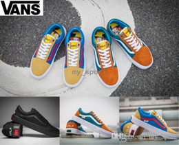 928da7b5f49fe9 18-19 Golf Wang X VANS Old Skool Pro Skateboard Casual Shoes Zapatillas De  Deporte Women Men Black Vans   Sneakers Casual Canvas Trainers