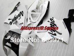 Kawasaki Ninja 7r Australia - K246 Classical white black full Fairing for KAWASAKI Ninja ZX7R 96-03 ZX-7R1996-2003 ZX 7R 96 97 98 99 00 01 02 03 1996 2003
