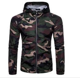 floral hoodies UK - Hot Sale Camouflage Jackets Hoodie Clothes Outerwear Patchwork Winter parka Coats Men's Clothing Army Green Apparel