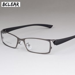 80ac659d0c3 new male spectacles frame 2019 - BCLEAR New Style Men Eyeglasses Frame  High-end Business