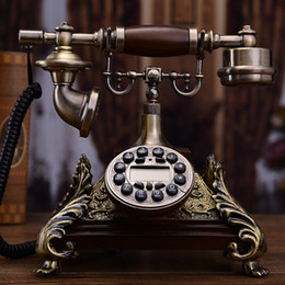 EuropEan tElEphonE antiquE online shopping - Mu Yuzhen antique European telephone retro telephone fashion creative telephone home office landline fixed line