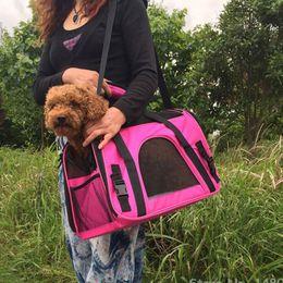 Puppy Bag Carrier NZ - Breathable Shoulder Pet Carrier Dog Bag Designer Dog Carrier Bags for Puppy Medium Dog Transport Bag Carriers for Pet Bag