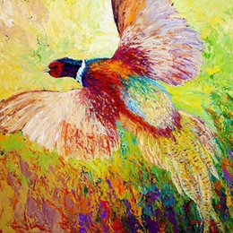 giclee watercolor print Australia - Giclee the urge to merge [flushed--pheasant] oil painting arts and canvas wall decoration art Oil Painting on Canvas