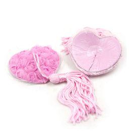 top nipple 2019 - Top Sell 2pcs set Self Adhesive Sequin Tassel Cover Fur Red Ribbon Rose Heart Shape Bra Nipple Cover Pasties Breast Peta
