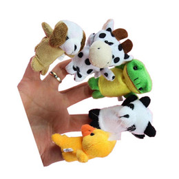 $enCountryForm.capitalKeyWord UK - Fashion finger puppet OKLZ9102 Baby Kids Plush Cloth Play Game Learn Story Family Finger Puppets Toys Funny