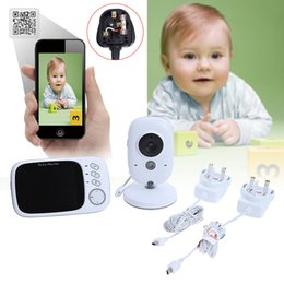 Chinese  3.2 inch Wireless Video Color Baby Monitor Two-way Intercom Baby Nanny Security Camera Night Vision Temperature Monitoring manufacturers