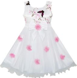 $enCountryForm.capitalKeyWord Canada - Sunny Fashion Flower Girls Dress Butterfly Wedding Pageant Bridesmaid 2017 Summer Princess Party Dresses Clothes Size 4-10