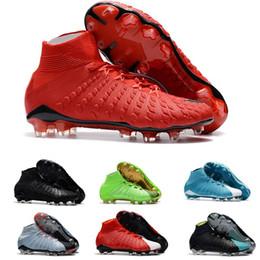 Venta al por mayor para hombre botines de fútbol Hypervenom Phantom III EA  Sports FG zapatos de fútbol de tierra blanda botas de fútbol barato Rising  Fast ... ea528f0a5375e