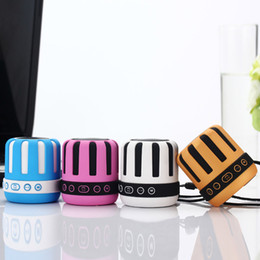 Discount ds mp3 player Mini Portable Speaker DS-715 Bluetooth Wireless Subwoofers with TF Card USB Slot MP3 Music Player Stereo Amplifier