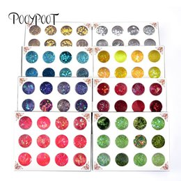 $enCountryForm.capitalKeyWord Canada - Pooypoot Nail Glitter Sequins Sparkly Star Heart Flakes Rhinestone Nail Art Decorations Gel Pigment Powder DIY Tips Tools