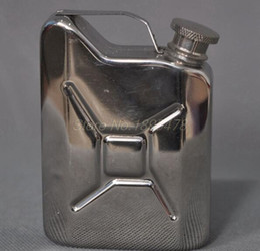 $enCountryForm.capitalKeyWord Australia - 100PCS 5oz Oil Liquor Hip Flask Wine Pot Stainless Steel Hip Flask fast shipping for DHL fedex