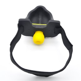 Adult gAgging sex gAmes online shopping - Bdsm Silicone Urinal Mouth Bite Gag with Urine Collector Drink Pissing Bondage Erotic Heavy Play Games Adult Sex Toys for Couples XCXA331