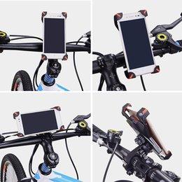 360 Rotierenden Rotation Fahrrad Handyhalter Verbesserte MTB Fahrrad Halter Unterstützung Stehen Einstellbare Telefon BB55