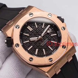 Roses butteRflies online shopping - Luxury Rose Gold Brand Watch Automatic Mechanical Aaa Luxury Mens Men ROYAL OAKS Watches DIVER Wristwatches Orologio Di Lusso relógios