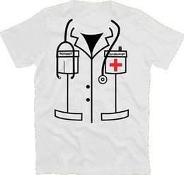 doctor dresses NZ - Emergency Doctor gynacologist Fancy Dress Carnival Costume T-Shirt S-XXXL funny 100% Cotton colour jersey Print t shirt