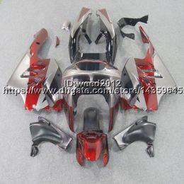Cowl Fairing Australia - Custom-color+5Gifts red silver ABS motorcycle cowl for Kawasaki Ninja ZX-9R 1994-1997 ZX9R 1994-1997 Fairings