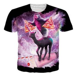 025f89a0c Pizza Shirt Men UK - Anime Koala Pizza Newest Fashion Men Women Tops 3d  Printing T