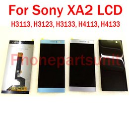 sony xperia screen repair Australia - 100% Original New For Sony Xperia XA2 H3113 H3123 Dual H4113 Complete LCD Display Assembly With Touch Screen Digitizer Repair Part Free Ship