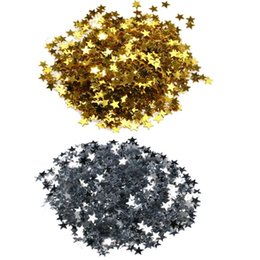 Glitter Tips UK - 3000 6000pcs Manicure 3d Nail Art Tips Glitter Star Decorations Five-pointed Star Sequins DIY Glitter Nail Stickers Decorations