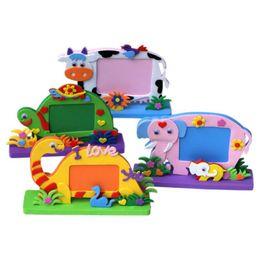 Kids crafts Kits online shopping - DIY D EVA Foam Sticker Cartoon Photo Frame Decor Kids Child Craft Toy Kits