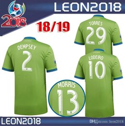 19dcafab5 New Thai quality 2018 2019 Seattle Sounders FC Soccer Jersey 18 19 MORRIS  DEMPSEY TORRES Football Jerseys Shirt