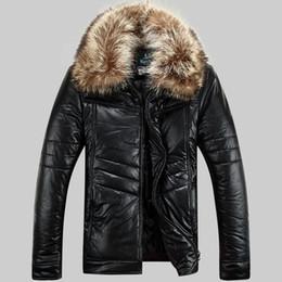 Discount snow jackets - Parkas Men Winter Jackets Real Raccoon Fur Windbreaker Snow Coat Outwear Overcoat Waterproof Warm Thick Larger Size 4XL
