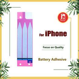 Toptan satış iPhone 4 4s için Pil Yapışkan Tutkal Bant Şerit Sticker Yedek Parça 5 5s 6 6S 5c 7 8 Plus X XS Max XR 11 Pro Max