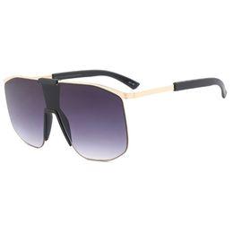 287b60d13e Oversized Square Sunglasses Women Vintage Brand Designer Gradient Lens  Shades Sun Glasses Men Big Frame Hip-hop Glasses FML
