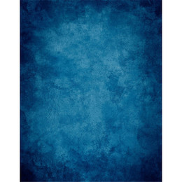 solid blue color abstract style photography backdrops printed kids children family photo shoot backgrounds for studio