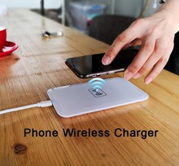 qi standard wireless charger charging 2019 - TOP sell Big sales Universal Phone Wireless Charger Qi Wireless Charging Power Pad for ALL Qi-standard Smartphones e385