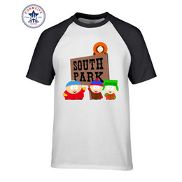 a8837e3c4 New Arrive O Neck Short Sleeve Cotton Tops Tshirt Men Clothes Cartoon  Sitcoms SOUTH PARK Funny T Shirt Men