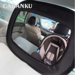 Baby View Mirror Car NZ - New Car Safety Seat Mirror View Back Baby Car Safety Rearview Kids Mirror Baby Child Infant Adjustable Basket Mirror