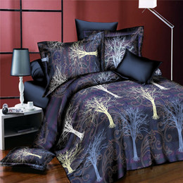 $enCountryForm.capitalKeyWord Australia - Creative Boho Life Tree Bedding Set 3D Floral Duvet Cover Bed Sheet Pillowcases for Adults Children Home Textiles 4pcs Men Bedclothes Gifts