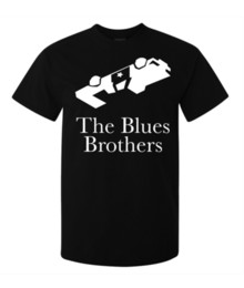 blue police car UK - The Blues Brothers Legendary Movie Police Car men's t shirt black Printed T-Shirt Boys Top Tee Shirt Cotton