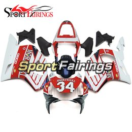 injection honda cbr954rr fairing NZ - Injection Fairings For Honda CBR900RR CBR954RR 954 2002 2003 ABS Motorcycle Fairing Kit Bodywork Motorbike Cowling White Red Dark Blue