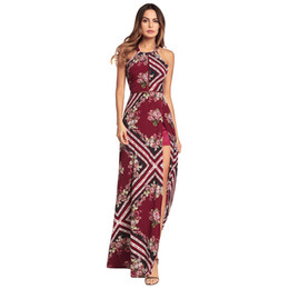$enCountryForm.capitalKeyWord Canada - Women's Fashion Sexy party Dress Bordeaux red Open fork backless printed chiffon dresses Sexy dress sequins Bodycon Long beach dress