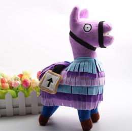 Hottest figure online shopping - Hot Fortnite Troll Stash Llama Figure Doll Soft Stuffed Animal Toys Fortnite Stash Llama Plush Toy cartoon Stuffed doll cm I297