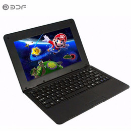 Android Mini Netbook Laptop UK - 10.1 Inch notebook Android laptop HDMI Laptop 8GB Quad Core Android 5.0 HDMI Wi-fi Mini Netbook Bluetooth RJ45
