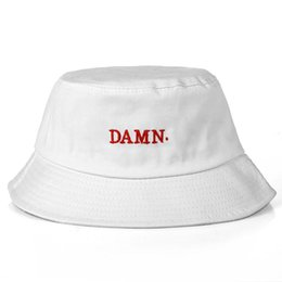 2018 hot Fashion bucket cap Foldable Fishing Caps Beach Sun Visor dam  bucket capSale Folding Man Bowler Cap For Mens Womens d9e3d7bad28