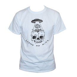 $enCountryForm.capitalKeyWord Australia - Losing My Mind Skull T Shirt Funny Ufo Goth Graphic Printed Tee S M L Xl Xxl T-shirt O - Neck Fashion Casual High Quality Print