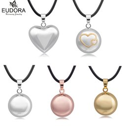 $enCountryForm.capitalKeyWord Australia - Eudora Harmony Ball Mix Style Angel Caller Chime Sound Bola Balls Pendant Necklace for Pregnant Women Gift Charm DIY Jewelry