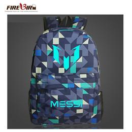 b9d06009a537 Logo Messi Backpack Bag Men Boys Travel back pack Bag Teenagers School Gift  Kids Bagpack Bolsas Escolar FN893