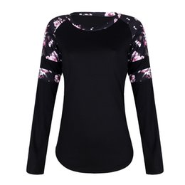 Types prinTing shirTs online shopping - New Trend Printing Pattern Neck Collar T shirt Women s Fashion Self Cultivation Type Breathable Splicing Coat