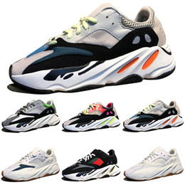 low cut mens brown boots 2019 - Top Quality Kanye West Wave Runner 700 Boots Grey Running Shoes for men 700s womens mens Sports Sneakers trainers outdoo