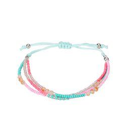 $enCountryForm.capitalKeyWord UK - 10PC set Fashion Braided Rope Bracelet Set Handmade Waterproof Wrap Bracelet Charm Woman Kids for gift